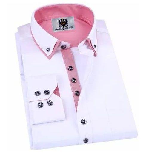 Camisa Social Premium Slim Estilo Varsóvia