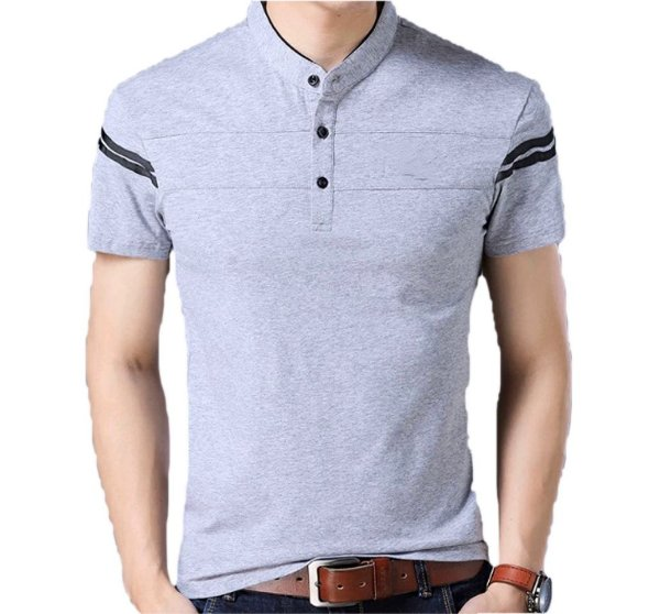 Camiseta Slim Fit Manga Curta Estilo Newcastle