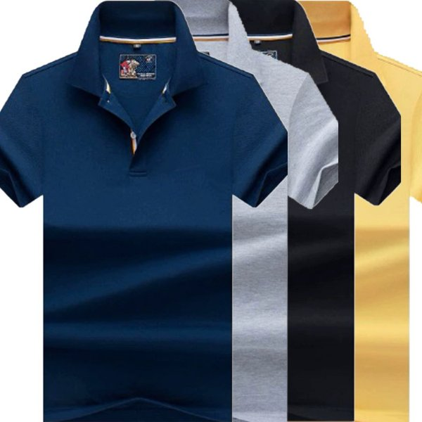 Kit 3 Camisa Polo Masculino Luxo Austrália