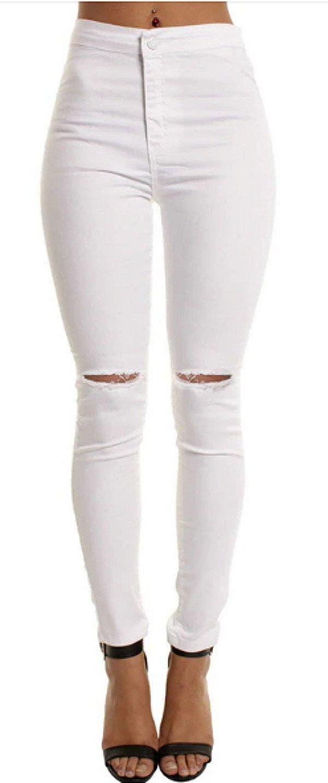 Calça Jeans Sarja Feminina Estilo Londres