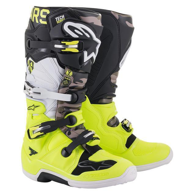 Bota Alpinestars Tech 7 Edição Limitada Ams!!
