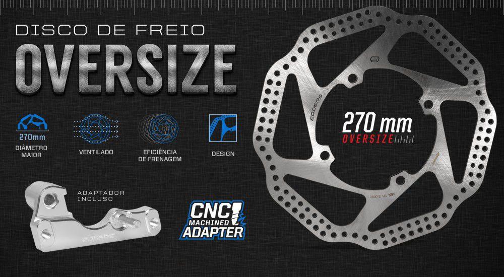 Disco de Freio Dianteiro Oversize Crf 250/450 r/x 04/14