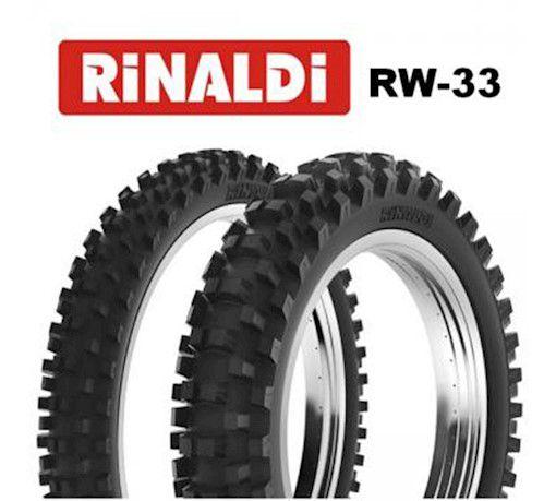 Pneu Cross Dianteiro 80/100-21 Rinaldi Rw 33