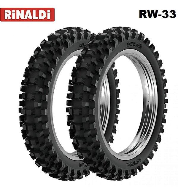 Pneu Rinaldi Traseiro 100/100-18 RW33