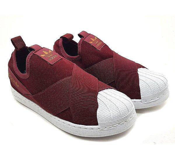 fd80bf32c Tênis Adidas Superstar Slip On Unissex - (Várias cores) - SEU TÊNIS