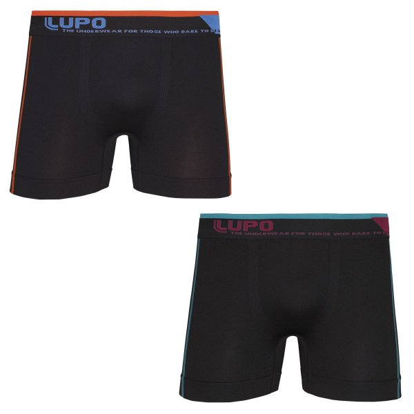 deb234fc7 Kit Cueca Boxer Lupo Microfibra sem Costura - 00542-007 - NETMIX Store