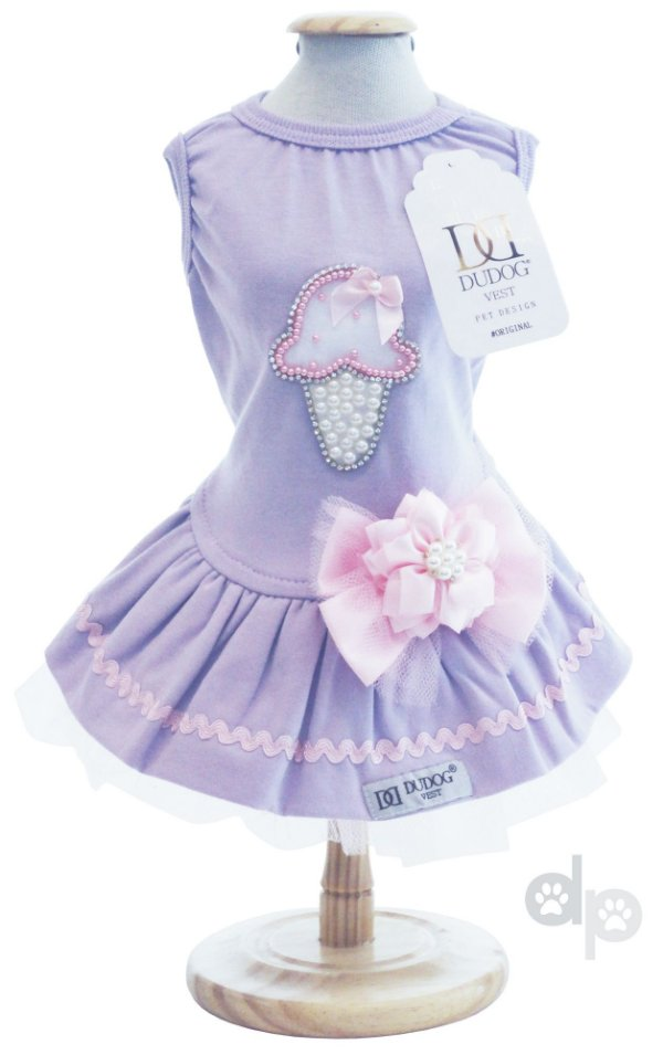 Vestido Sorvete Lilás