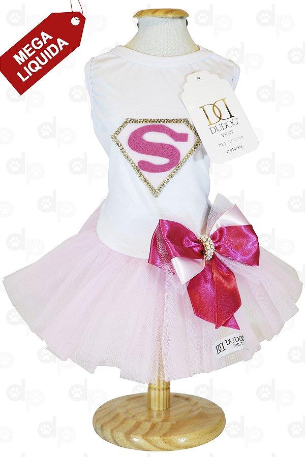 Vestido Supergirl