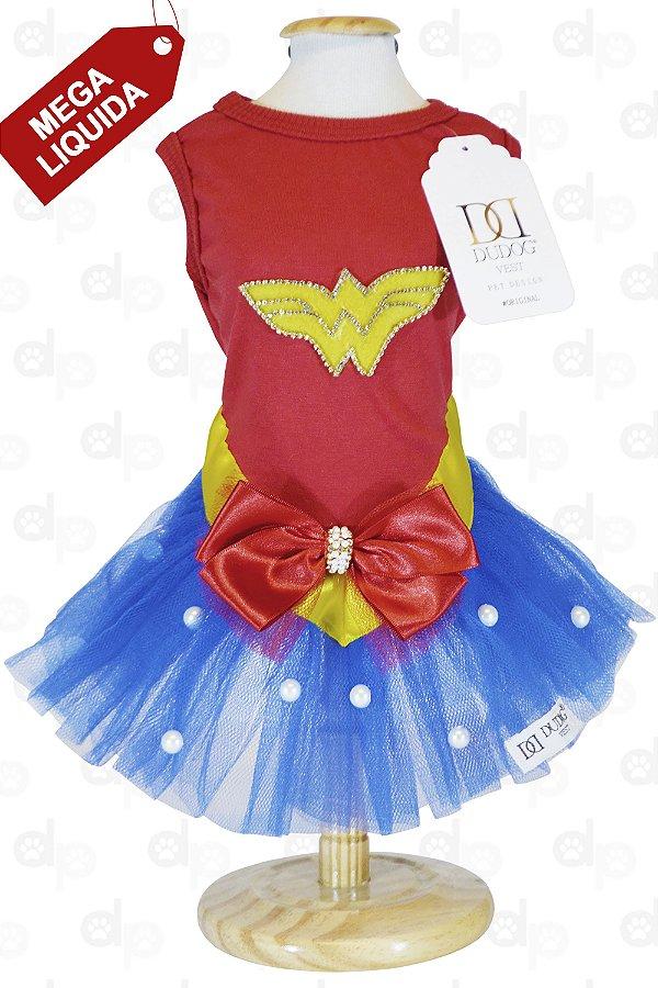 Vestido Mulher Maravilha
