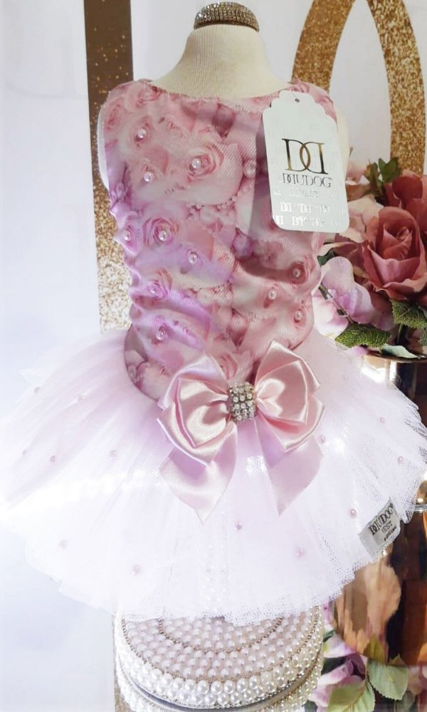 Vestido Pérola Rosa