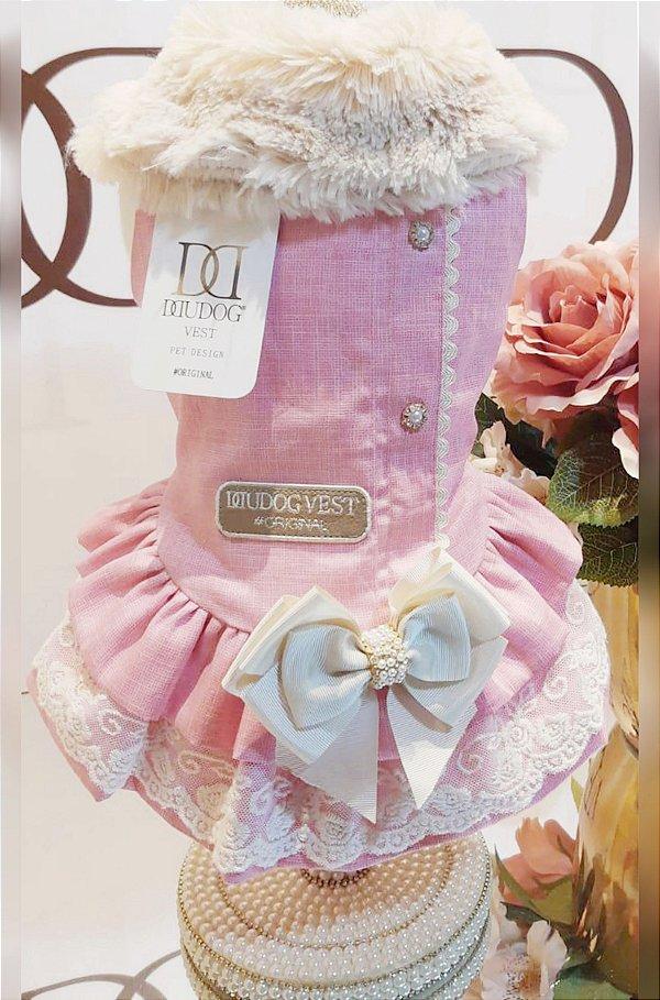 Vestido Rosa Chiclete