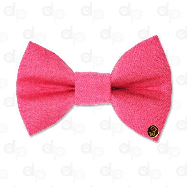 Laço Linho Pink