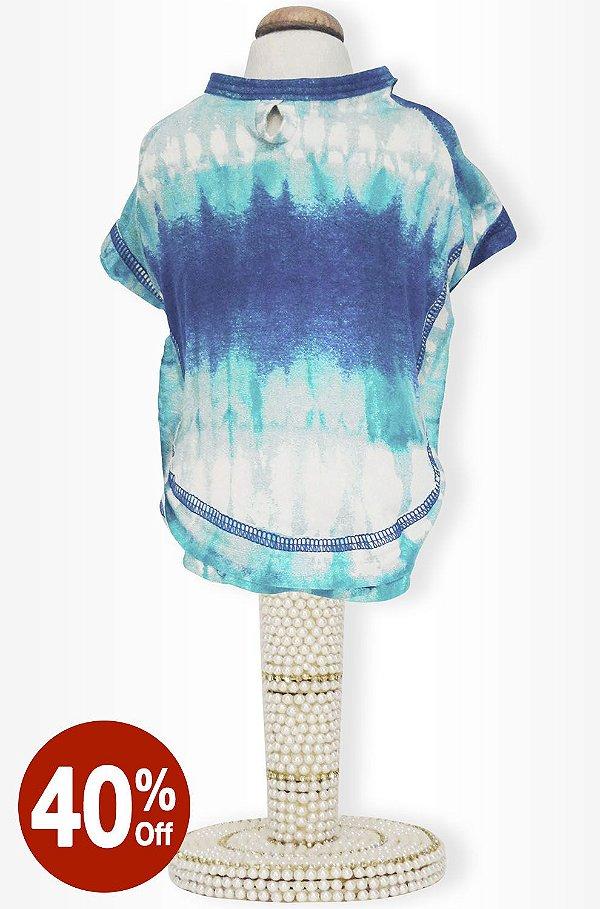 Camiseta Tie Dye Acqua