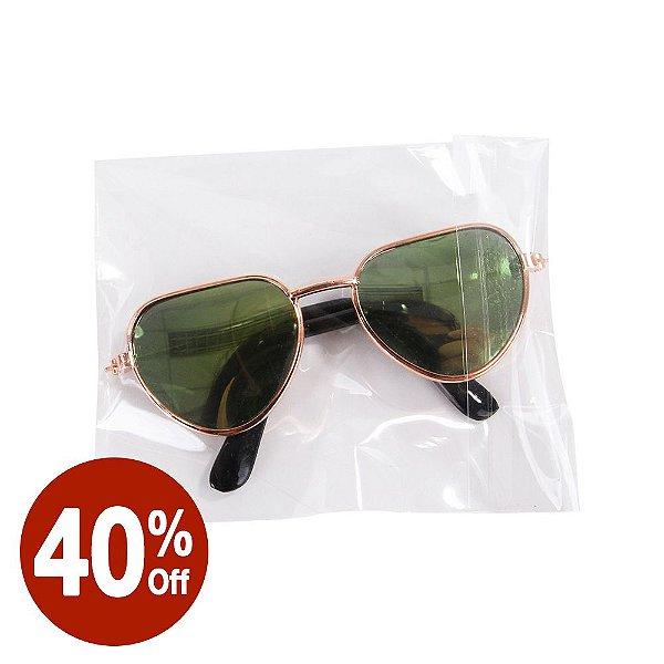 Óculos Coração Verde