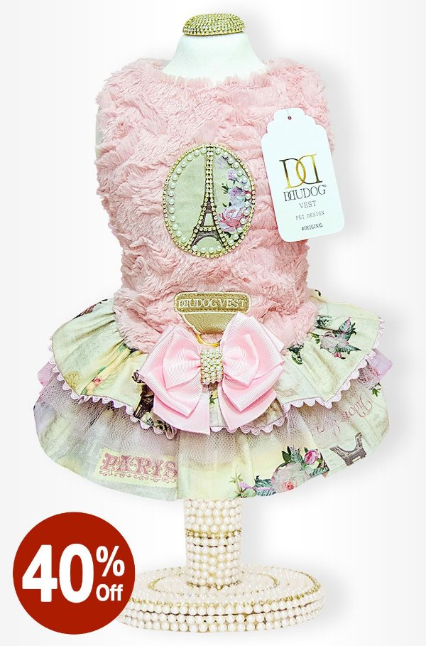 Vestido Rose Paris