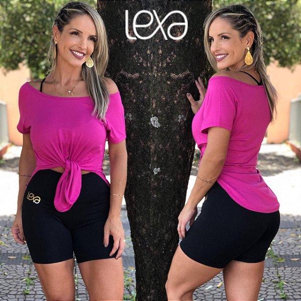 Camiseta Viscolycra Rosa