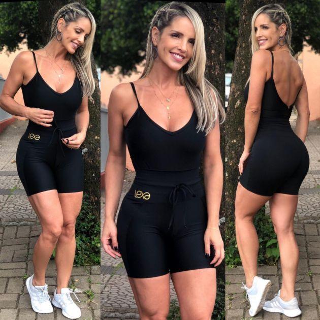 Shorts Raia Preto