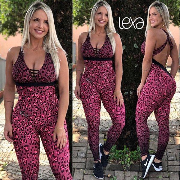 Macacão Onça Pink
