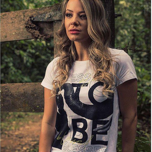 T-Shirt Nogah Blessed Branca