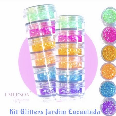 Kit Glitter Jardim Encantado - Emerson Nogueira