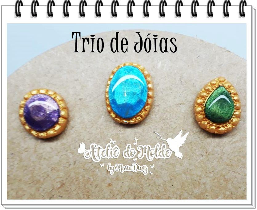 Trio de jóias
