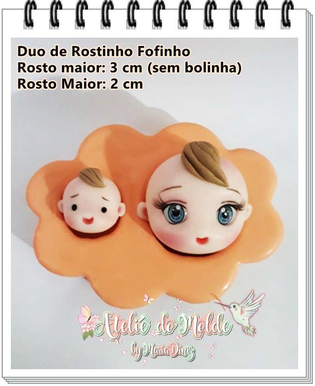 Duo de Rostinhos fofinhos
