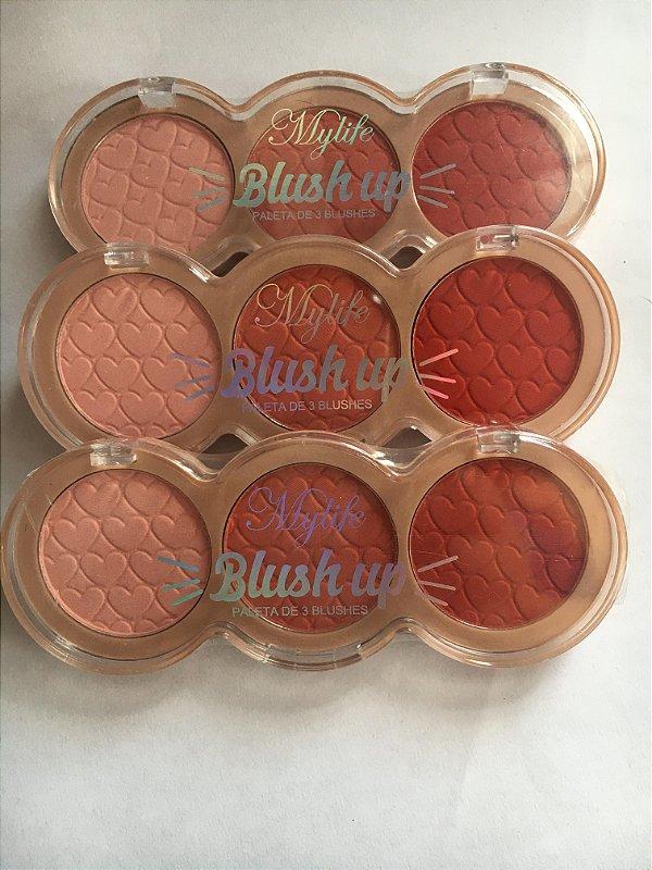 Paleta de Blush 3 cores