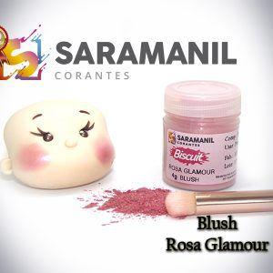 Pó Blush Rosa Glamour