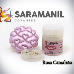 Corante pó rosa camaleão