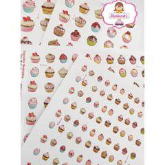 509 - Resinados - Cupcakes