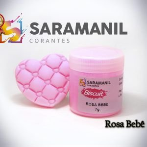Corante em pó Rosa Bebê