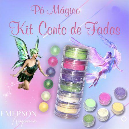 Pó Mágico - Kit Conto de Fadas