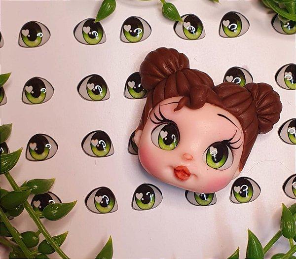 Olhos Princesinha - Res - Verde