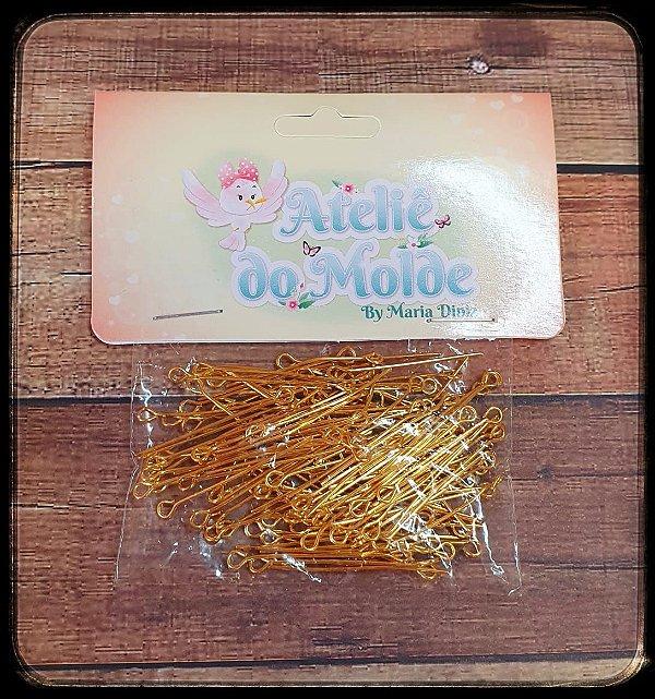 Alfinete Pino - Dourado