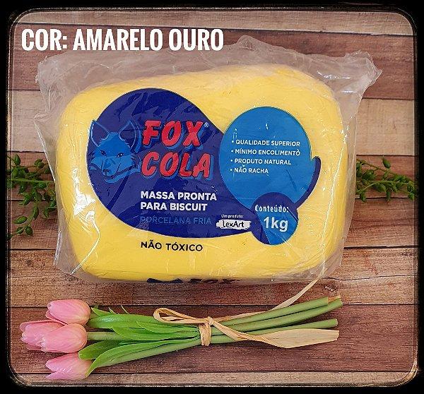 Massa para Biscuit FOX - Amarelo Ouro