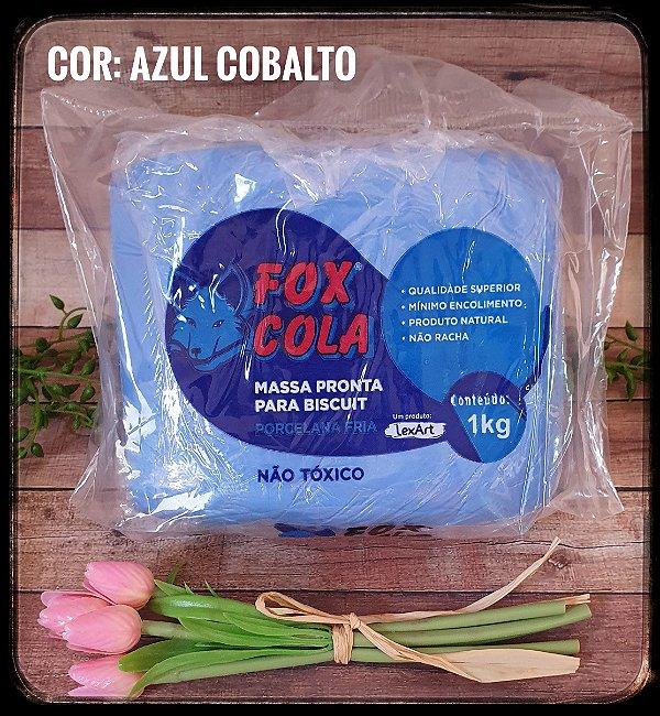 Massa para Biscuit FOX - Azul Cobalto