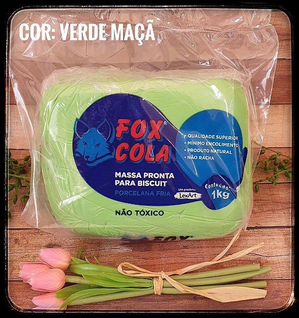 Massa para Biscuit FOX - Verde Maça