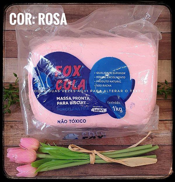 Massa de Biscuit FOX - Rosa