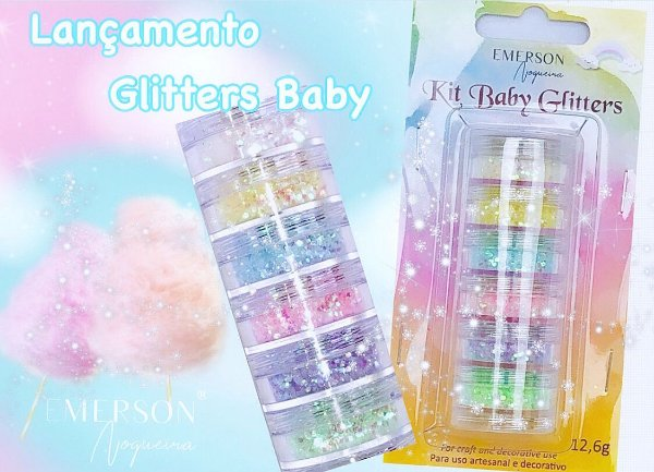 Kit Baby Glitters -  Emerson Nogueira
