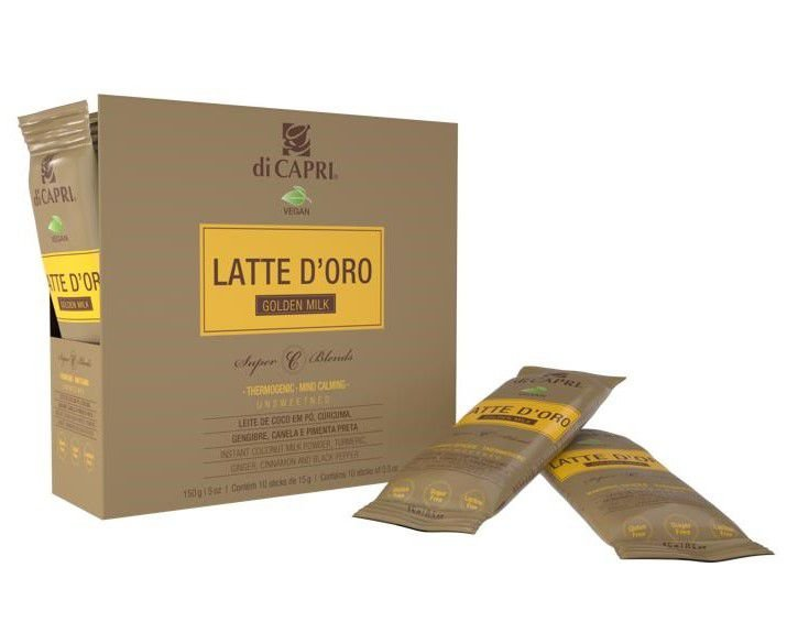 LATTE D'ORO Golden Milk 2GO Cartucho 150g