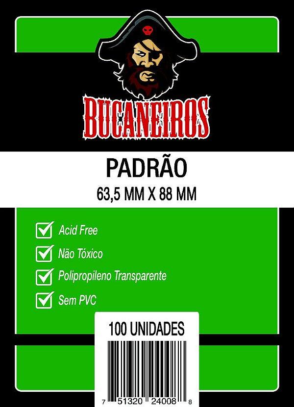 SLEEVE PADRÃO (63,5x88) Bucaneiros