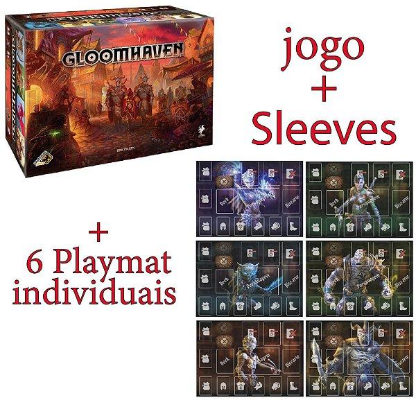 Gloomhaven + Sleeves + 6 PLAYMATS (Pré-venda)