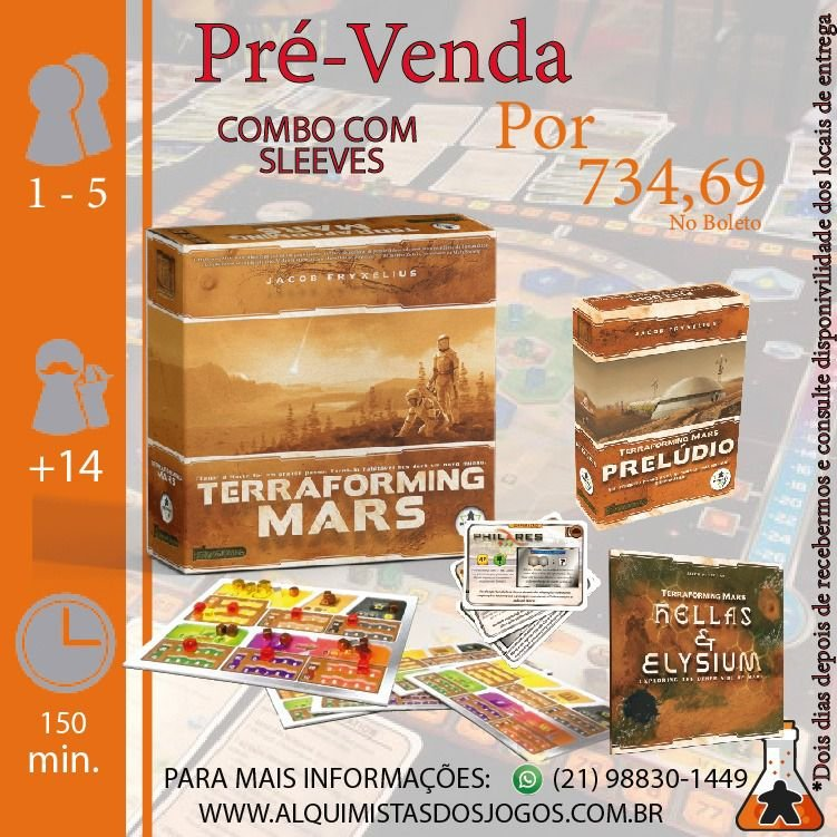 Terraforming Mars - Combo