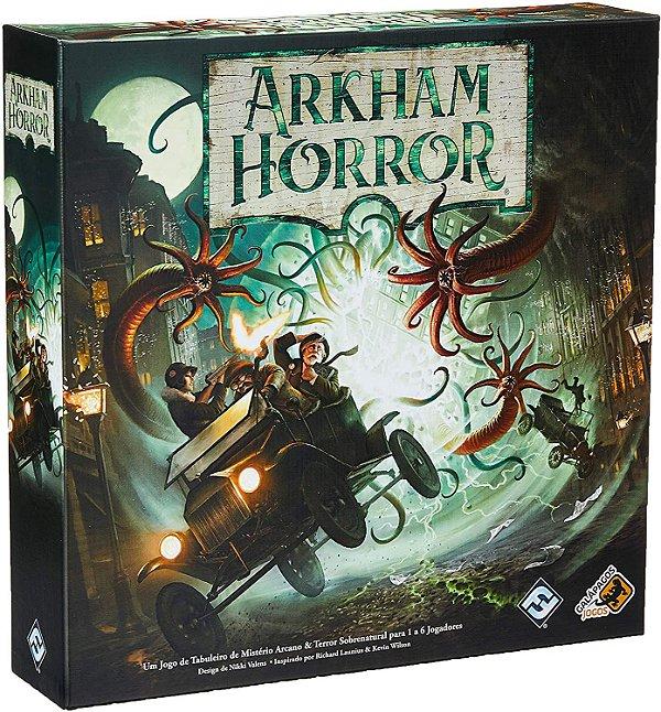 ARKHAM HORROR: BOARD GAME (REPOSIÇÃO)