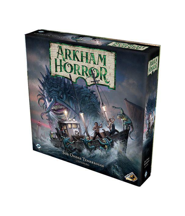 Arkham Horror - Sob Ondas Tenebrosas