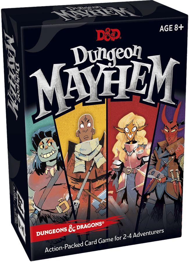 DUNGEONS & DRAGONS: DUNGEON MAYHEM (PRÉ-VENDA)