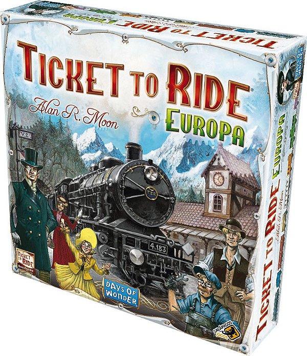 Ticket To Ride Europa (Reposição)