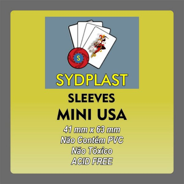 SLEEVE MINI USA Sydplast (41 X 63) Bucaneiros