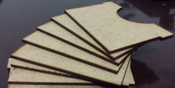 """Kit com 10 Separadores para Caixa Organizadora """"Big Box"""" para Card Games (Genérico)"""