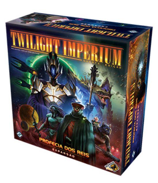TWILIGHT IMPERIUM 4ª ED: PROFECIA DOS REIS + Gamemat